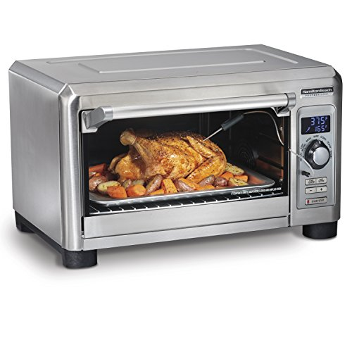 Hamilton Beach Professional 31240 Toaster Countertop Oven Convection, fits 6 Slices of Bread, Large, Stainless Steel