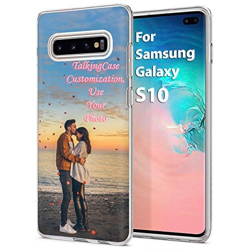 TalkingCase Custom,Personalized Phone Cover for Samsung Galaxy S10,SM-G973,Clear Superior Skin Gel Phone Cover,Ultra Soft Silicone TPU wCorner Bumper,Special Someone in Your Life,Print in USA