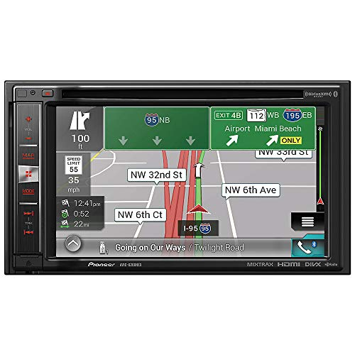 Pioneer AVIC-6200NEX in Dash Double Din Navigation Receiver with Built in Bluetooth and HD Radio (Pioneer Navi Car Stereo)