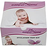 Easy@Home 50 Ovulation Test Strips and 20 Pregnancy...