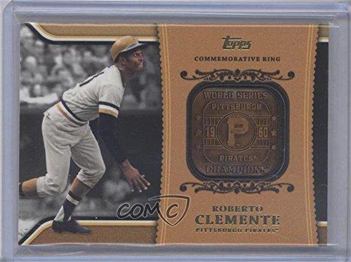 Roberto Clemente  Baseball Card  2012 Topps   Wal Mart Factory Set Roberto Clemente Career Rings  Wm Rc1