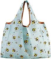 エコバッグ 買い物袋 折りたたみ ショッピングバッグ 折り畳みバッグ 防水 大容量・はち