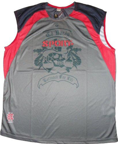 Ed Hardy Men's Muscle Tank Top Sport Eagle Available in Several Sizes -