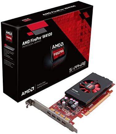 Amazon Com Ati Amd Firepro W4100 Tarjeta De Video Pci Express De Perfil Bajo 2 Gb Gddr5 4 Mini Displayports 100 505979 Computers Accessories