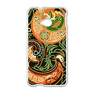 HRMB Attractive Classic Totem Pattern Custom Protective Hard Phone Cae For HTC One M7
