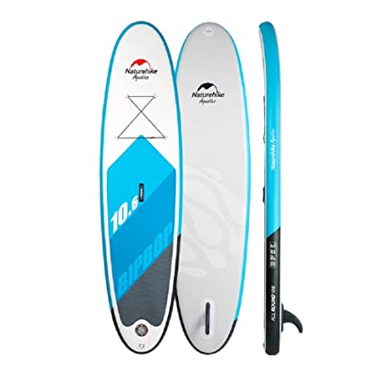 VIO Paddle board inflable surfboard adulto profesional esquí acuático tabla de pie,azul,10.6