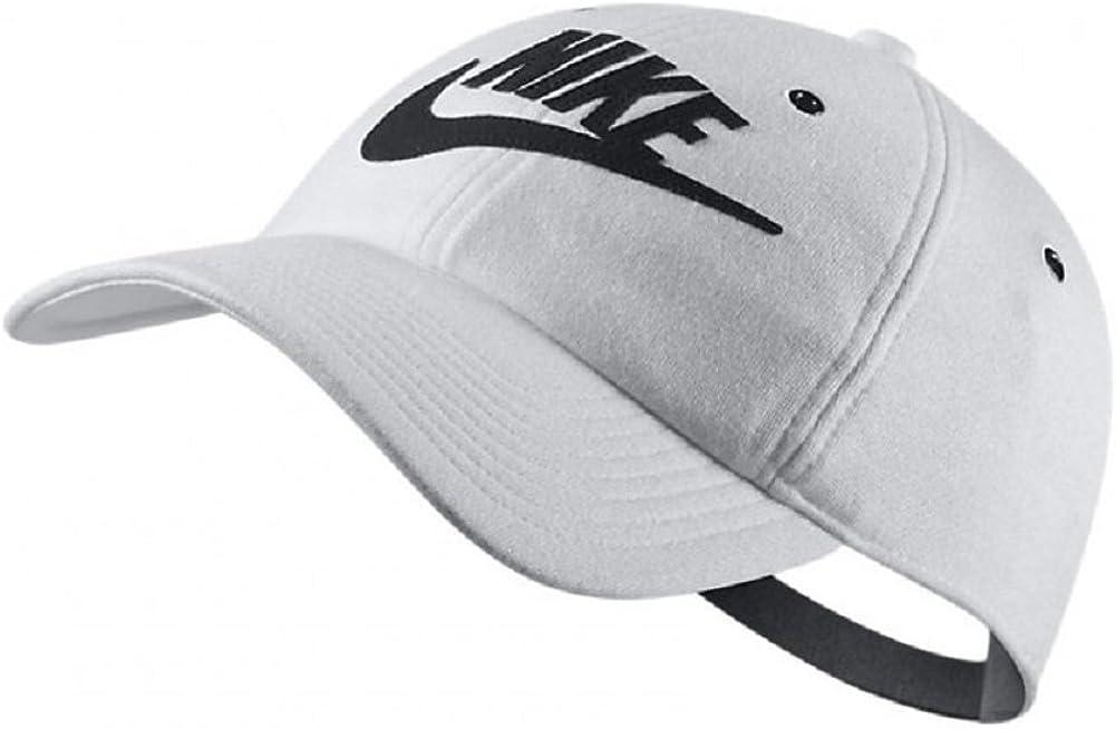 Nike - Gorra de béisbol - para Mujer Negro/Blanco Talla única ...