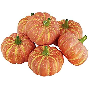 ca91d1d99f5 Amazon.com: Ehdching Pack of 16 Artificial Realistic Fall Harvest ...