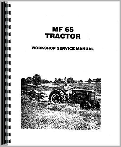 Service Manual 1958-1964 Massey Ferguson 65 Tractor