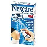 Nexcare Spray Liquid Bandage, 0.61 oz (Pack of 6)