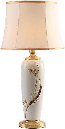 Cs Céramique Encre Peinture Bureau Lampe Salon Éclairage de