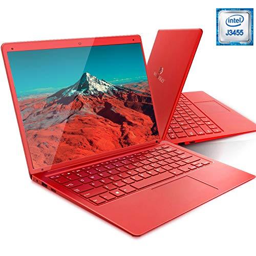 🥇 Ordenador Portátil DUODUOGO X20 14.1 Pulgadas FHD Windows 10 Home Intel Apollo Lake J3455 6GB RAM 128 GB ROM/Tarjeta escalable de 128 GB TF 1920×1080 USB 3.0/2.0 8000mAh WiFi