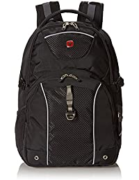 SA6730 Black with Gray Laptop Backpack- Fits Most 15 Inch Laptops and Tablets