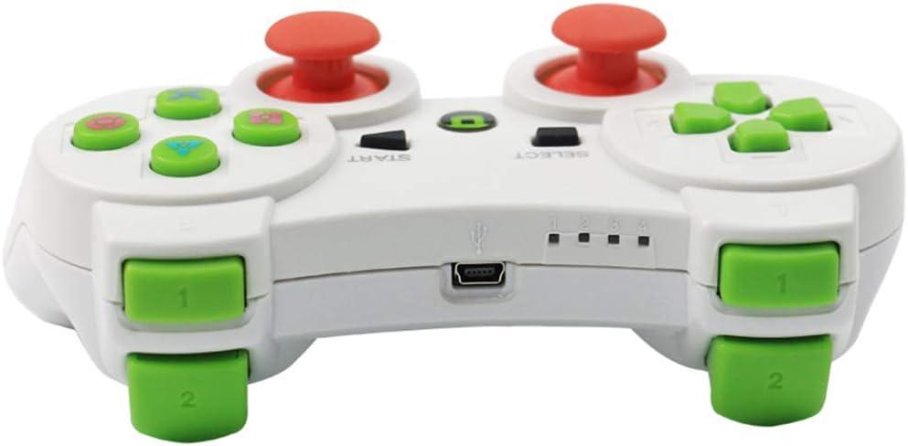 Morza Controlador inalámbrico Bluetooth Wireless Juego Joystick Gamepad para PS3 Videojuegos Handle Joystick