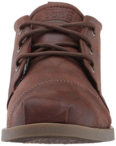 Drifting BOBS Flat Chill Women's Brown Skechers Luxe xIwFOdOq