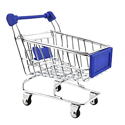 Buy Imported Mini Shopping Cart Trolley Toy Dark Blue Online at Low Prices  in India - Amazon.in 2bcd3821ff901