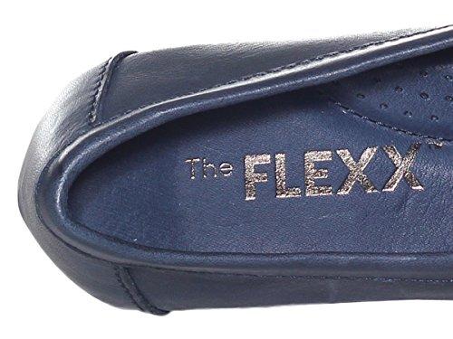 Pe18 Flexx Navy 20 Donna Scarpe The Mocassino B165 HgUU0x