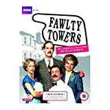Fawlty Towers Remastered BBC TV Comedy Series 1 & 2 Complete DVD Collection [3 Discs] Boxset + Extras by John Cleese