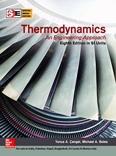 Thermodynamics An Engineering Approach