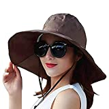42b64dd5 7 · Women Summer Rain Hat UV UPF 50 Sun Protection Wide Brim Hat Sun