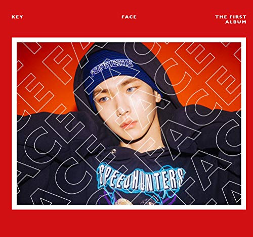 Price comparison product image SHINEE KEY [FACE] 1st Album 2 Ver SET 2CD+POSTER+2ea Photo Book+2p Card+Tracking Number K-POP SEALED