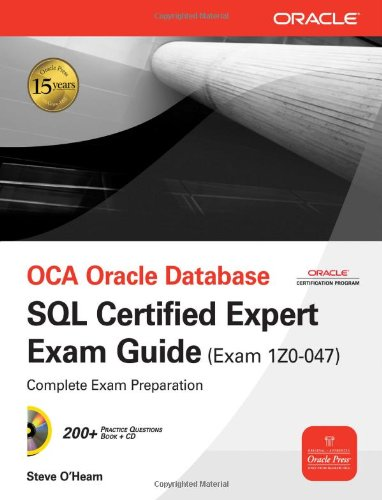 OCA Oracle Database SQL Expert Exam Guide
