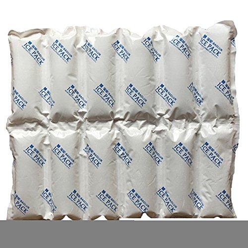 Pack Hoja para que el calor de alivio del dolor de hielo reutilizables 24Células 2400ml absorbente Gel Hielo Pad sin...