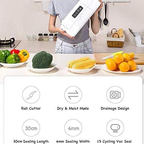 Passez l'aspirateur sur les compacteurs Maison et Cuisine Mini Sac Scellant, machine thermique portatif, petits appareils ménagers en plastique alimentaire Snac DDLS