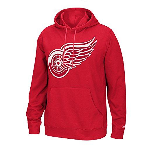 NHL Detroit Red Wings Men's Face-Off Playbook Hoodie, Medium, - Wings Red Hoodie