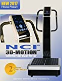 NCI Whole Body Vibration Machine - 3D-MOTION by Commercial (2HP, 440 lbs), Dual Motor, Large Vibrating Platform, USB Programmable