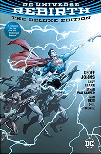 Amazon com: DC Universe: Rebirth Deluxe Edition