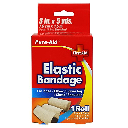 PURE-AID First Aid Elastic Bandage by Pure-Aid