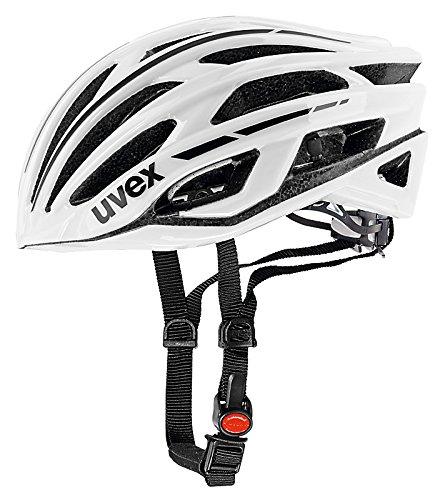 Uvex Fahrradhelm Race 5, White, 58-61, 4101900119