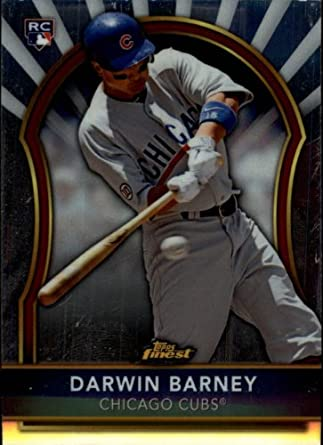920370b8539 Amazon.com  2011 Finest Baseball Rookie Card  92 Darwin Barney Near  Mint Mint  Collectibles   Fine Art