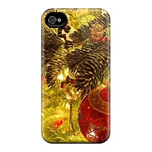 Iphone 4/4s BYC20534xpfT Xmasmoment Tpu Silicone Gel Case Cover. Fits Iphone 4/4s