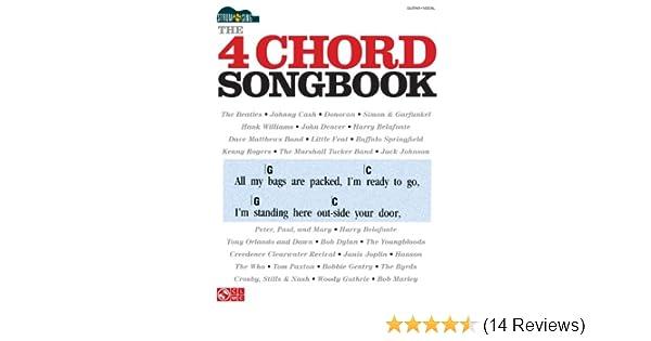 Amazon The 4 Chord Songbook Strum Sing Series Ebook Hal
