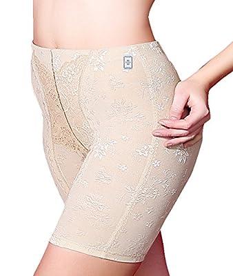 Women's Shapewear Hi-Waist Tummy Control Boyshort & Thigh Slimmer Panties Brief