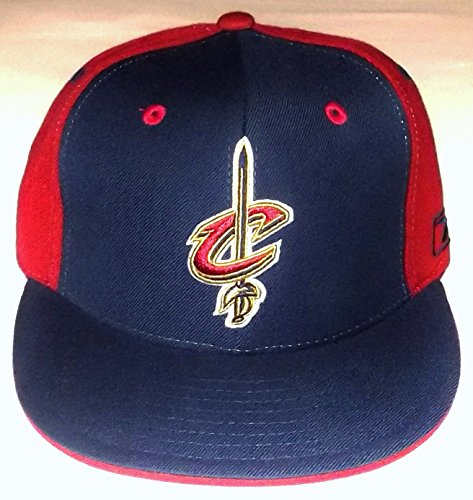 NBA Cleveland Cavaliers Pinwheel Footlocker Fitted Reebok Hat - 7 1/4