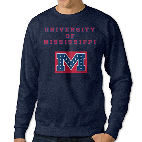 Hamlet Costumes For Sale (JJVAT Men's University Of Mississippi Crew-Neck Sweater Size S)