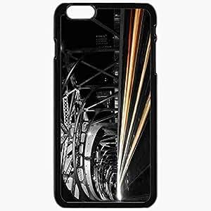 Unique Design Fashion Protective Back Cover For iPhone 6 Plus Case Slim (5.5 inch) Bridge Road Night Lights Black