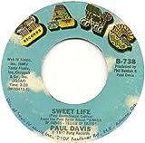 Paul Davis 45rpm Bad Dream - Sweet Life