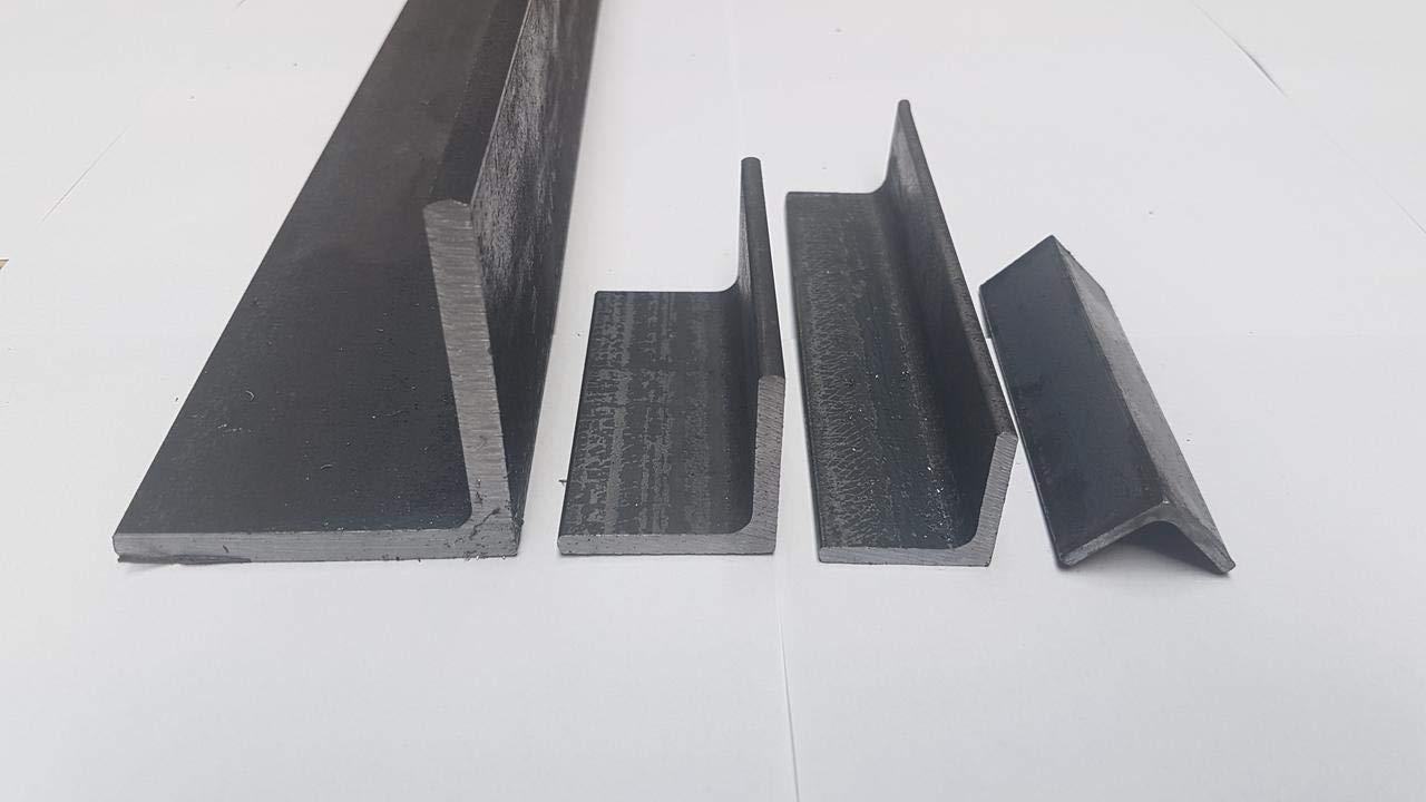 1.0038 ST37 0//-3 mm S235 B/&T Metall Stahl Winkel 25x25x3 mm in L/ängen /à 500 mm
