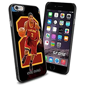 NBA Basketball Player Kyrie Andrew Irving Cleveland Cavaliers , Cool iPhone 6 Smartphone Case Cover Collector iphone TPU Rubber Case Black by ruishername