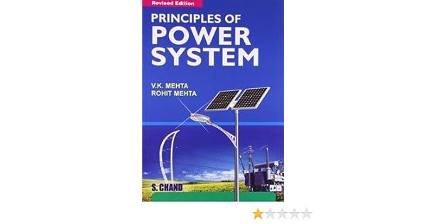 principles of power system v k mehta rohit mehta 9788121924962