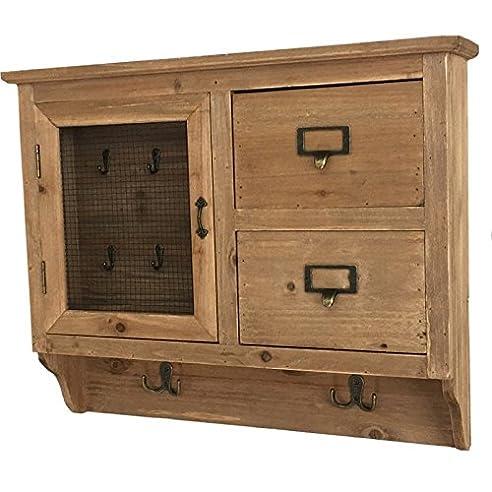Waschtisch Input Box mit Schlüssel Schlüssel mit Schublade Holz ... | {Waschtischplatte holz mit schublade 81}