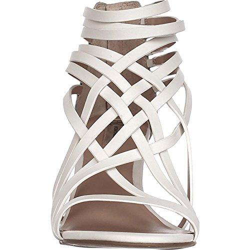 Bright Cuir White Concepts International Garoldd INC Sandales qxgHwRx