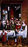 Master catholic Kings The Marriage at Cana - 18'' x 27'' 100% Hand Painted Oil Painting Reproduction