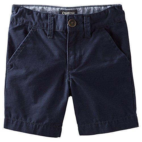 OshKosh B'Gosh Big Boys' Flat Front Shorts - Navy - 12 Youth - Oshkosh Boys Shorts