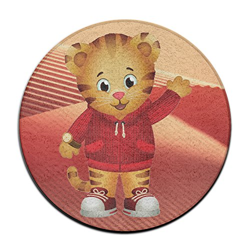DonSir Cartoon Cute Daniel Home Furnishing Round Bathroom Bedroom Floor NonSlip (Jewelry Florida State Seminoles Seal)