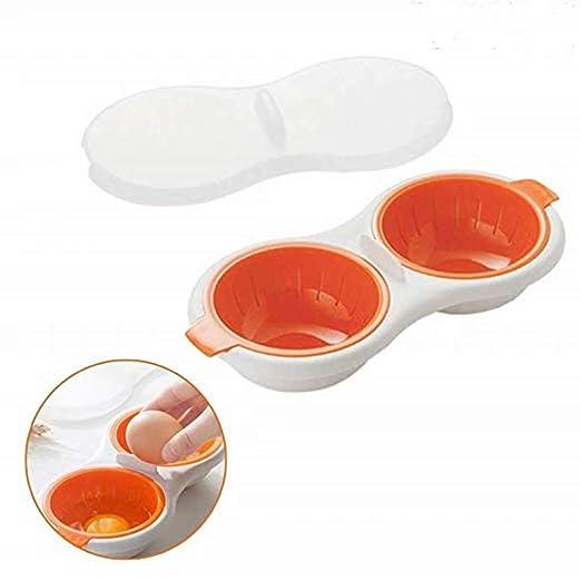 Heyuni. Escalfador de huevos para microondas, herramienta de ...